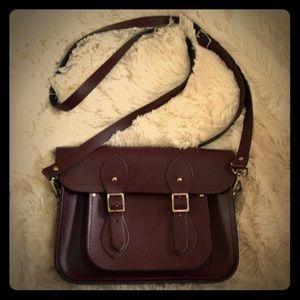🍂beautiful maroon Cambridge satchel 🍂
